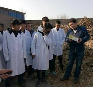 畜牧兽医专业学生秋季防疫实训